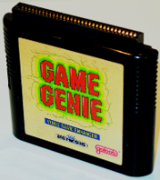 The Genesis Game Genie by Galoob
