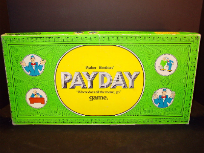 Payday from Parker Brothers, 1974