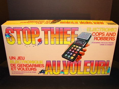 Stop Thief 1979 Board Game