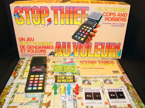 Stop Thief 1979 Parker Brothers Game