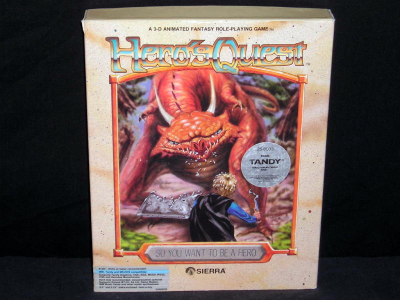 Hero Quest: So You Want To Be A Hero Cover