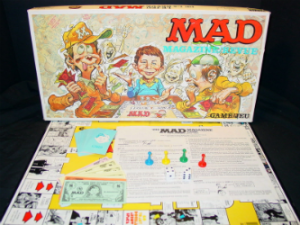 The MAD Magazine Game - 1979 Contents