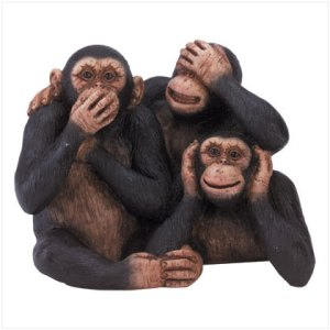 At eBay, we see, hear, and speak no evil - sellers excluded.