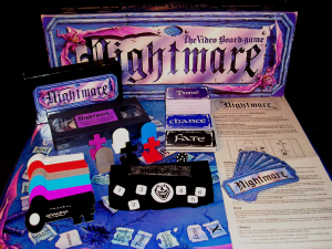 1991 Nightmare VHS Game Contents