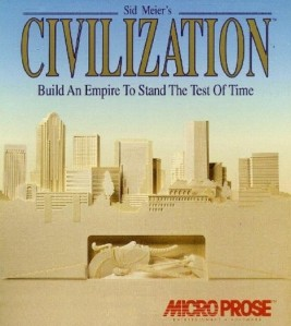 Sid Meier's Civilization (1991) Box Front