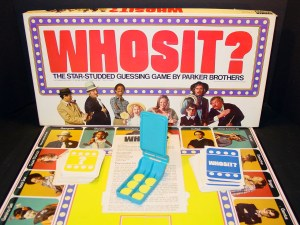 The Best Classic Board Games - WHOSIT? (1976) - Recycled ...