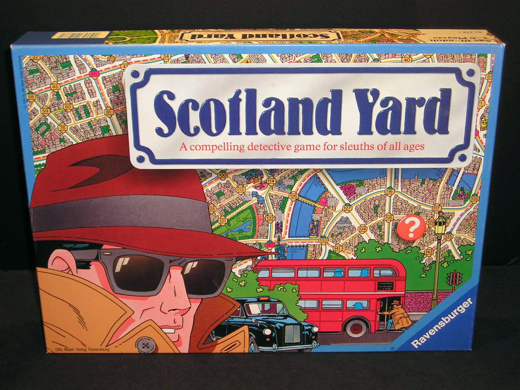 The Best Classic Board Games – Scotland Yard | Recycled