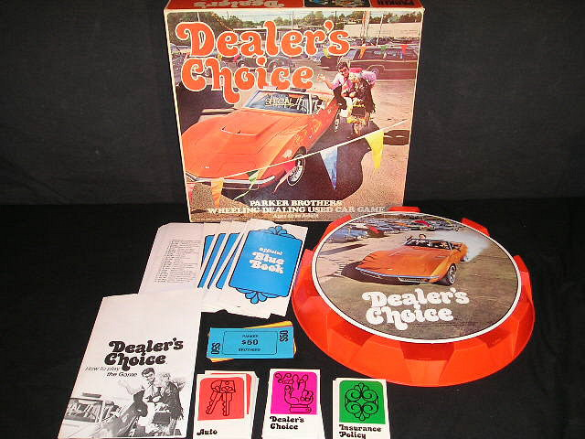 The Best Classic Board Games Dealer S Choice 1972