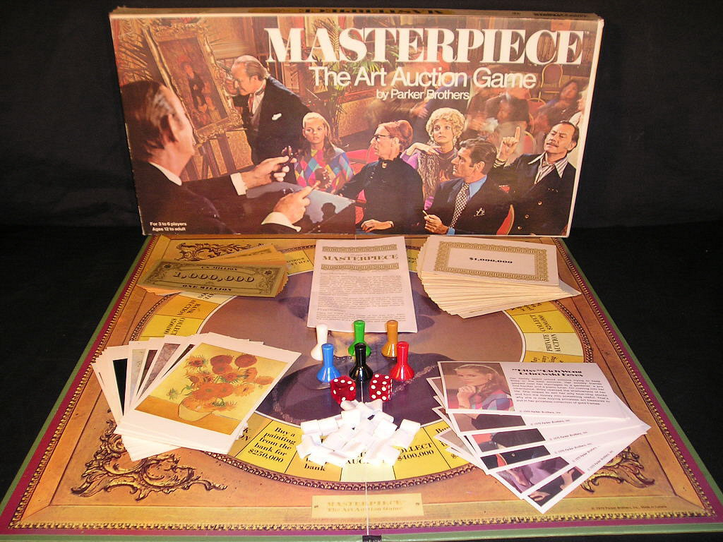 The Best Classic Board Games – Masterpiece (1970) | Recycled Thoughts from  a Retro Gamer