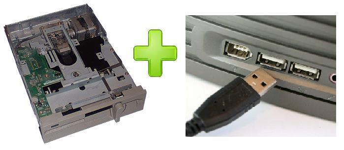Как сделать из флешки дисковод