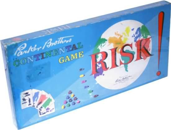 Risk board game box
