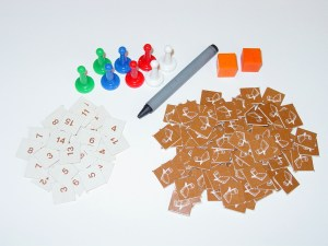 Tokens and Dice for DUNGEON!