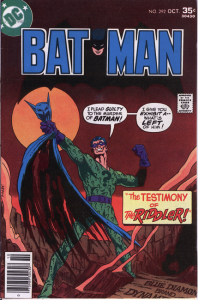 Batman 292: The Testimony of The Riddler