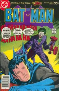 Batman 294: The Testimony of The Joker