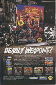 Double Dragon 3 Genesis Ad