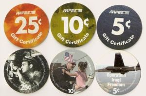 Examples of U.S. Military Pogs
