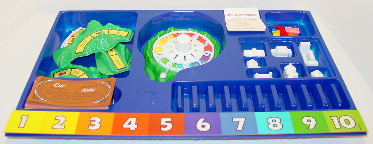 Whats In That Game Box The Game Of Life 1977 Recycled